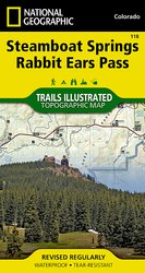 Trails Illustrated Steamboat Springs/Rabbit Ears Pass Trail Map