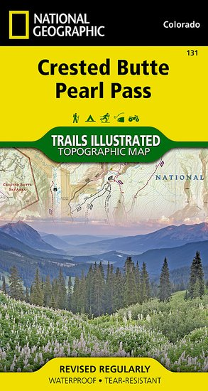 Trails Illustrated Crested Butte/Pearl Pass Trail Map [ti131