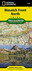 Trails Illustrated Wasatch Front North Trails Map