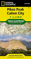 Trails Illustrated Pikes Peak/Canon City Trail Map