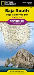 Adventure Map Baja South #3104