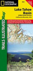 Trails Illustrated Lake Tahoe Basin