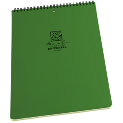 Universal Green Maxi Spiral Notebook Top Spiral #985