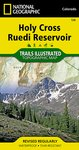 Trails Illustrated Holy Cross/Ruedi Reservoir Trail Map