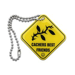 Cachers Best Friends - Thorn Tag