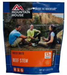 Mountain House Beef Stew - Pouch