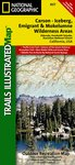Trails Illustrated Carson Icebergh Emigrant and Mokelumne Wilder