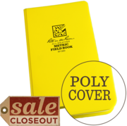 "Metric Field Bound Book Poly Cover 4 3/4"" x 7 1/2"" #360"