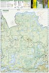 Trails Illustrated Boundary Waters Canoe Area - West Trail Map