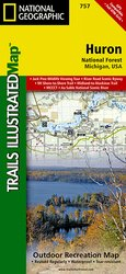 Trails Illustrated Huron National Forest