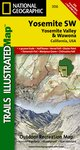 Trails Illustrated Yosemite National Park SW-Yos. Valley/Wawona
