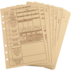 Tactical Reference Card Set Tan