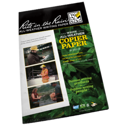 Rite in the Rain Copier Paper Large Format 25 sheet Pack