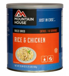 Mountain House Rice and Chicken #10 Can