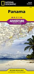 National Geographic Panama Adventure Map