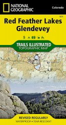 Trails Illustrated Red Feather Lakes/Glendevey Trail Map