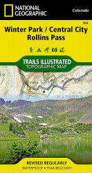 Trails Illustrated Colorado Series Winter Park / Central City /