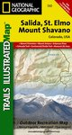 Trails Illustrated Salida/St. Elmo/Shavano Peak Trail Map