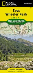 Taos Area Trail Map