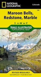 Trails Illustrated Maroon Bells/Redstone/Marble Trail Map