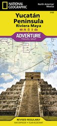 Adventure Map Yucatan Peninsula: Riviera Maya [Mexico]