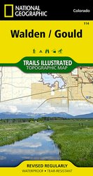 Colorado Series Walden/Gould Trail Map
