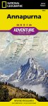 National Geographic Adventure Map: Annapurna