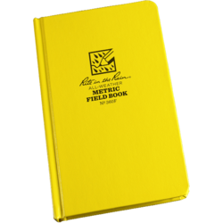"Metric Field Bound Book Fab Cover 4 3/4"" x 7 1/2\"" #360F"