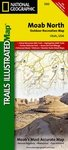 Trails Illustrated Moab North - Trail Map #500