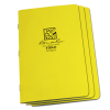 STAPLED NOTEBOOK - FIELD FLEX - FIELD - YELLOW