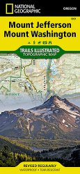 Trails Illustrated Mt Jefferson and Mt Washington Wilderness