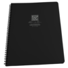 Universal Black Maxi Spiral Notebook #773-MX