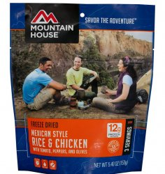 Mountain House Mexican Style Chicken and Rice