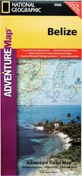 National Geographic Adventure Map Belize