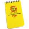 All-Weather Fire Incident Report Notebook 3 x 5