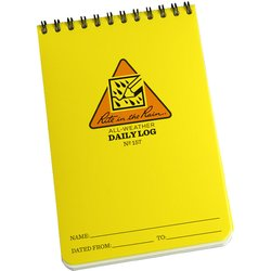 "Rite in the Rain Daily Log Pocket Notebook 4"" x 6\"""