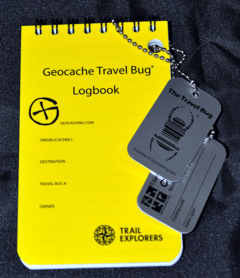 Travel Bug and Travel Bug Logbook Set
