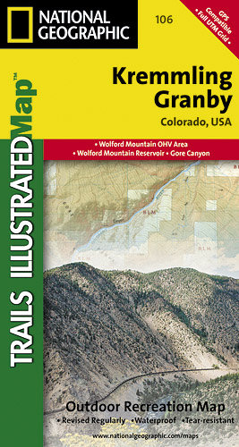 Trails Illustrated Colorado Series Kremmling / Granby