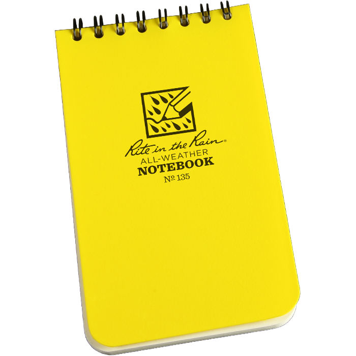 Shirt Pocket Notebook 3 x 5
