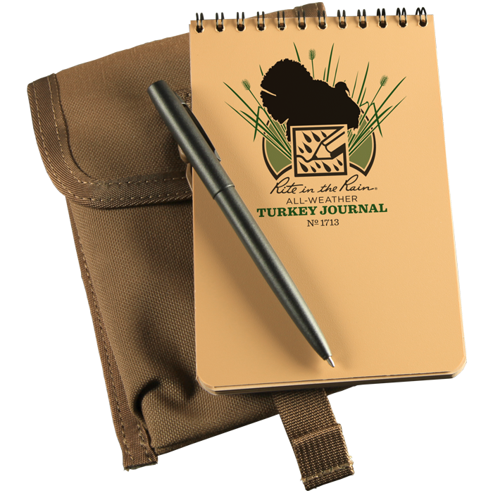 Rite in the Rain Turkey Hunting Journal Kit