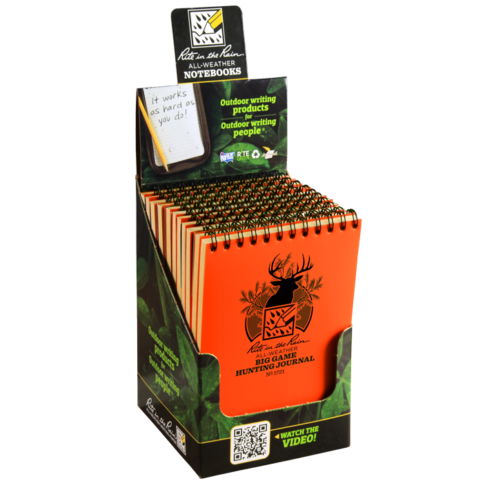 Big Game Hunting Journal 12 Pack