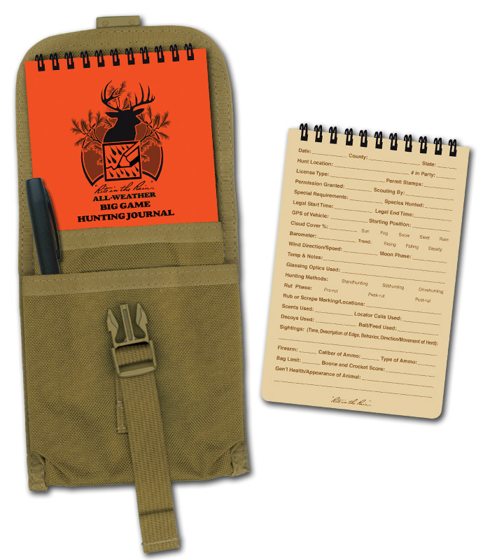 Rite in the Rain Big Game Hunting Journal KIT