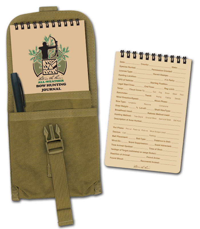 Rite in the Rain Bow Hunting Journal KIT