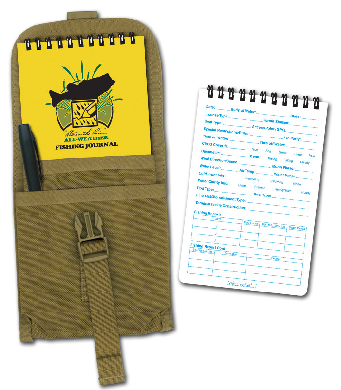 Rite in the Rain Fishing Journal Kit