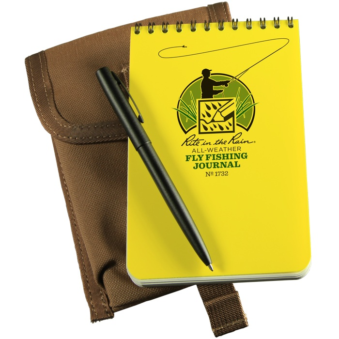 Rite in the Rain Fly Fishing Journal Kit