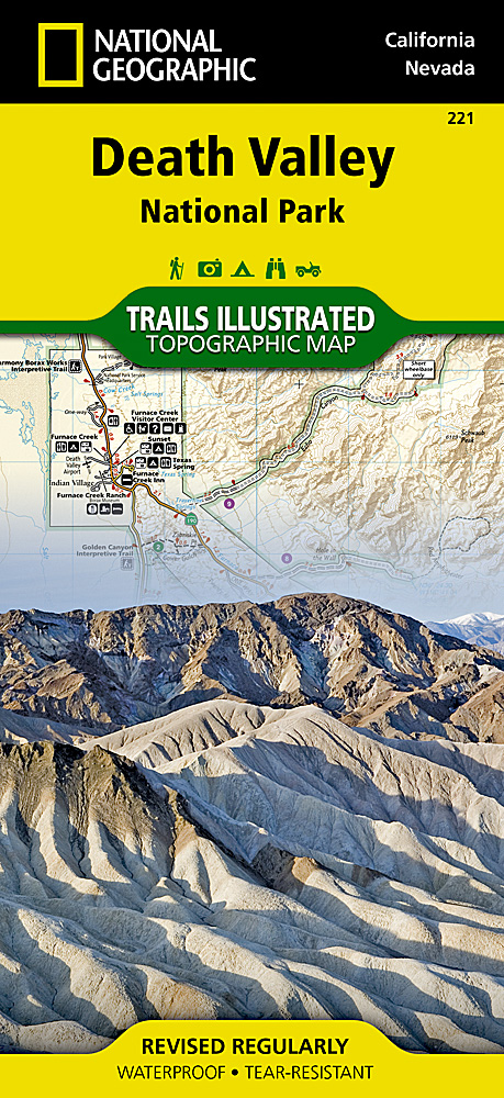 Death Valley National Park Map (new cover)