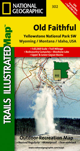 Sectional Trail Maps #300 - 322