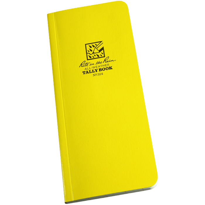 "Field-Flex Tally Book 3 1/2"" x 8"""