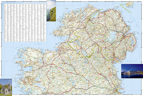 Adventure Map Ireland