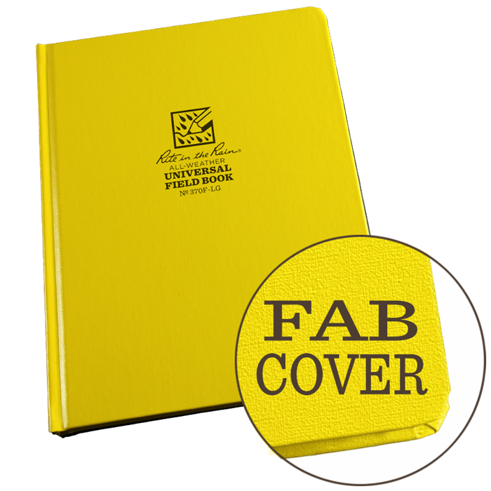 "Universal Bound Book Fab Cover 6 3/4"" x 8 3/4"" #370-LG"
